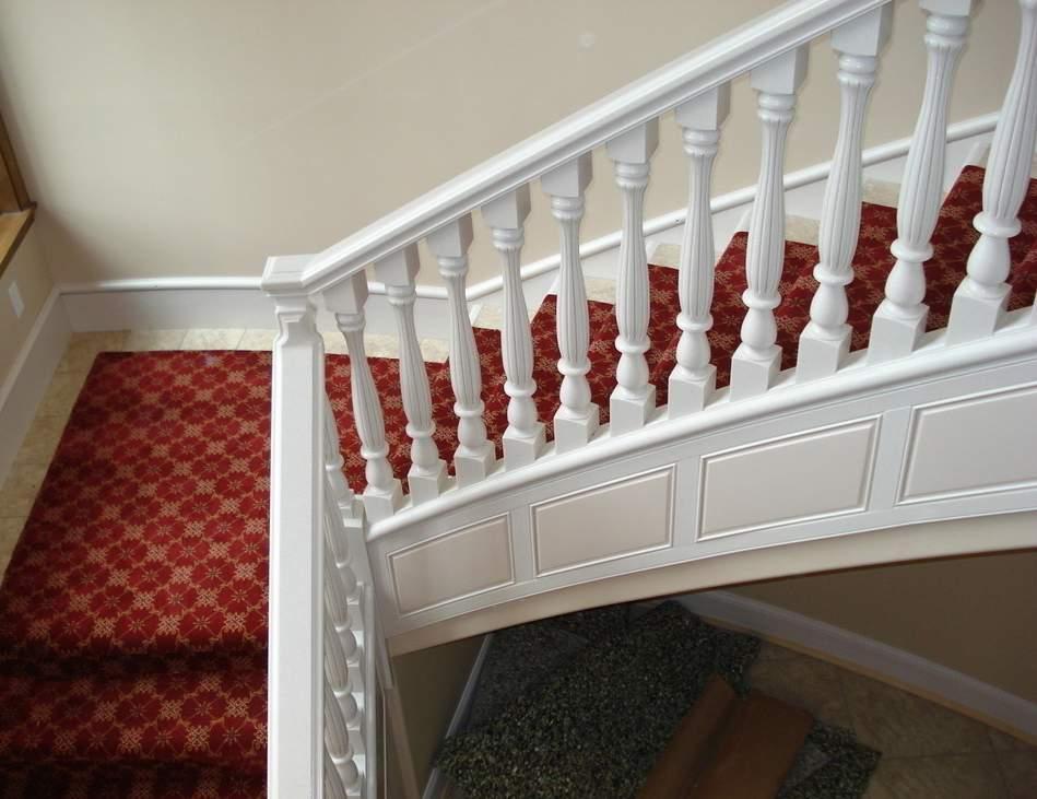 别墅复式装修设计-楼梯