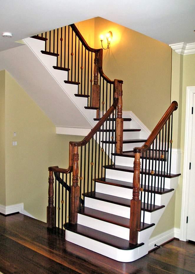 別墅復式裝修設計-樓梯